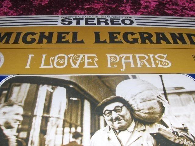 LP, MICHEL LEGRAND, I LOVE PARIS