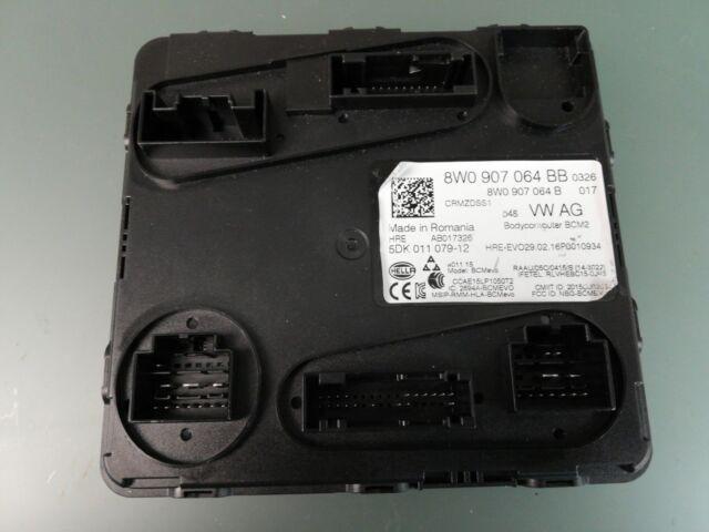 Original Audi A4 A5 Q5 Q7 Unidad de Control Deirección BCM2 Sistema Confort