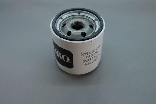 2 Toro Exmark 1-633750 Hydro Oil Filters Hydraulic Z Master Zero Turn Genuine