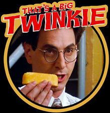 "80s Classic Ghostbusters Egon ""That's A Big Twinkie!"" custom tee AnySizeAnyColor"