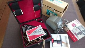 Filmkamera-Bolex-Zoom-Reflex-P1-New-noris-Splicomatic-EDITOR-VIEWER-8mm
