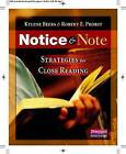 Notice & Note  : Strategies for Close Reading by Kylene Beers, Robert E Probst (Paperback / softback, 2012)