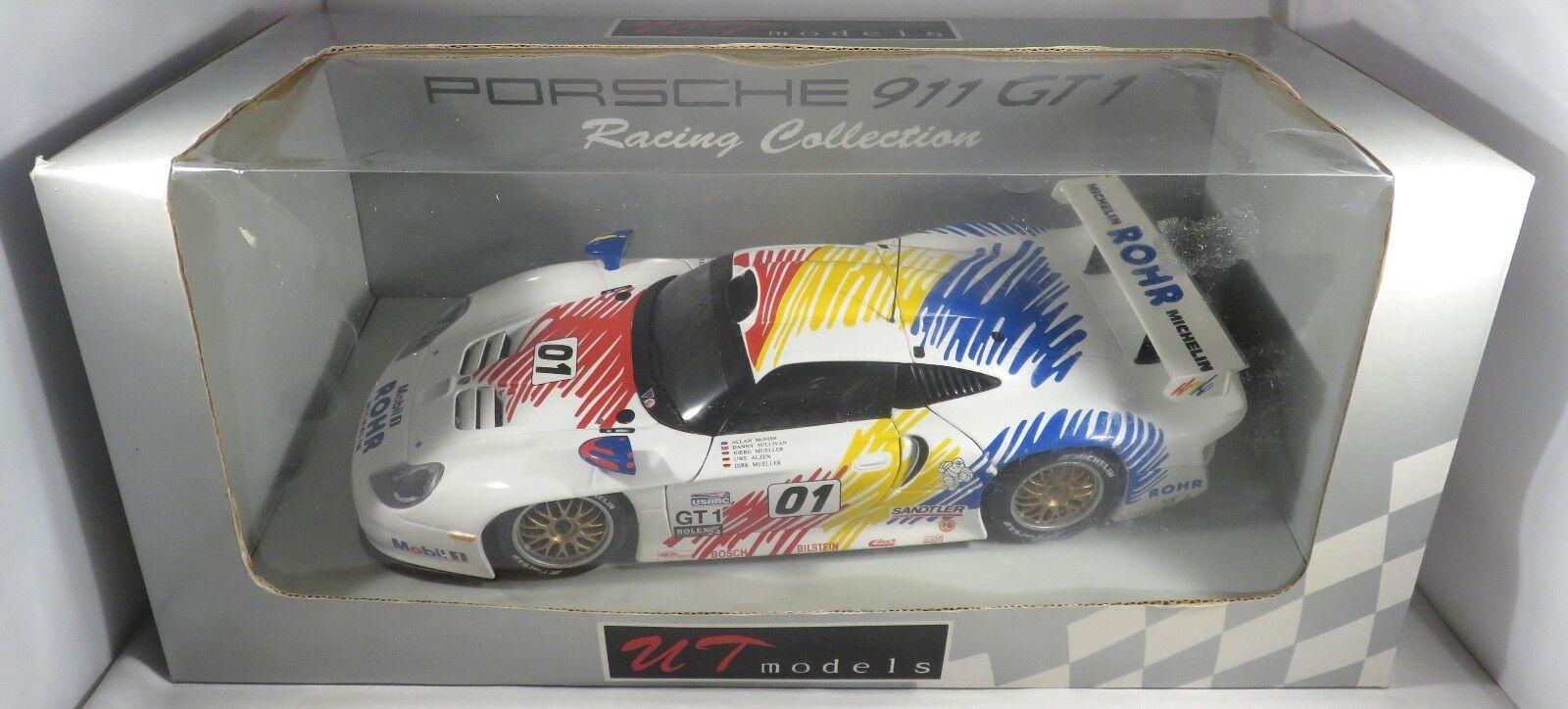 PORSCHE 911 GT1 Mcnish Muller Alzen Sullivan ROHR 2nd DAYTONA 1998 UT 1 18