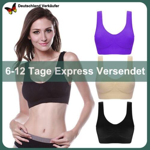Damen Sport BH Set Bra Unterwäsche Frauen Sport Fitness Yoga Bustier Frauen Top