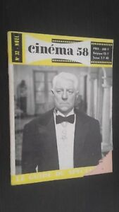 Rivista Mensile per Lettera Cinema N° 32 Natale 1958 Be