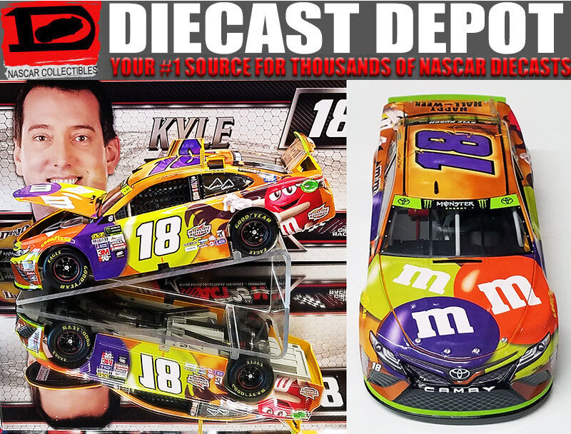 KYLE BUSCH 2017 M&M'S HALLOWEEN 1 24 SCALE  ACTION NASCAR DIECAST
