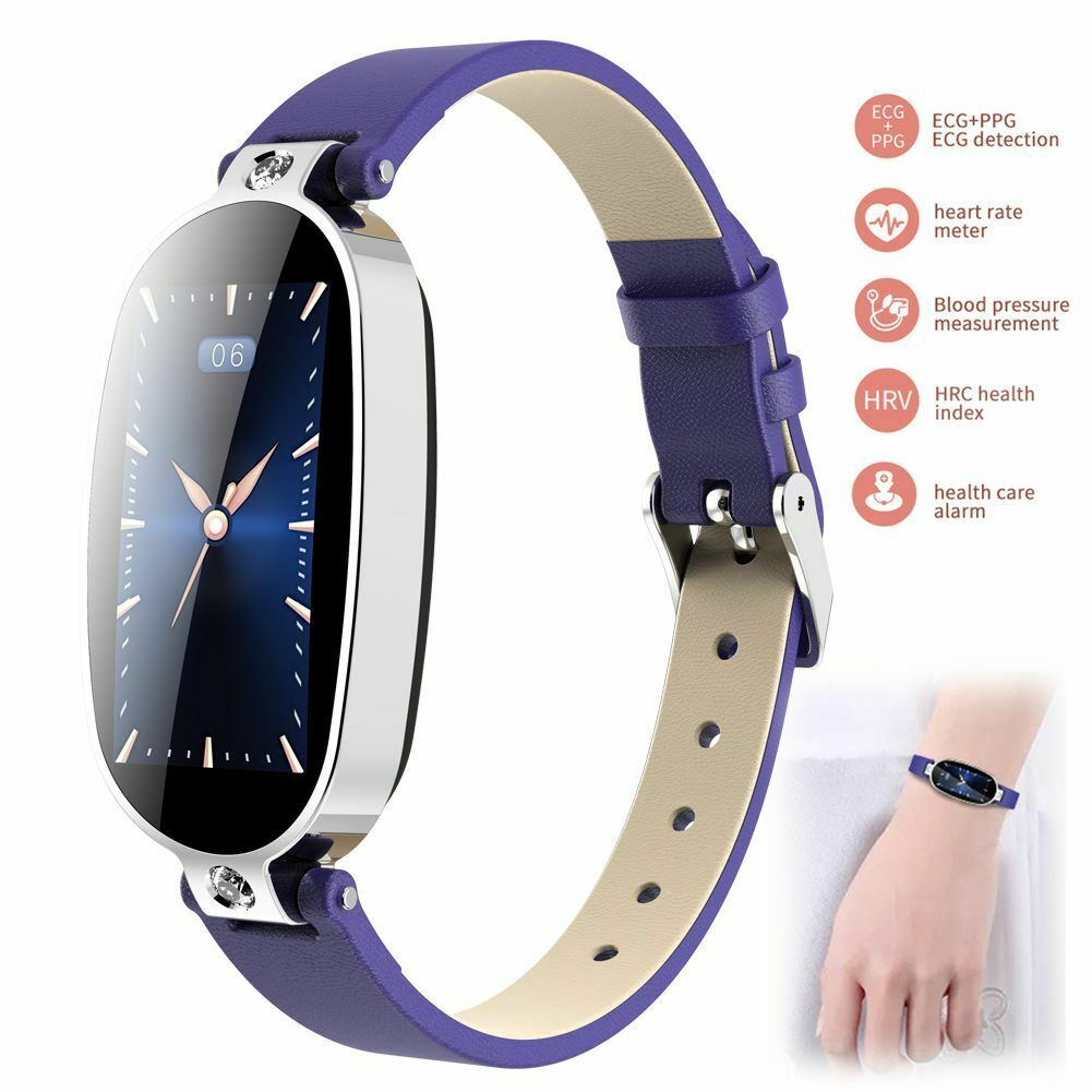 Lady Smart Watch ECG PPG Bracelet Fitness Tracker for iPhone Samsung Note 10 9 8 bracelet ecg Featured fitness for iphone lady ppg smart tracker watch