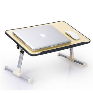 Image Is Loading FOLDABLE PORTABLE LAP TABLE DESK STAND SOFA BREAKFAST