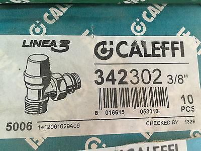 Caleffi 343302 Detentore attacchi diritti D  3//8  per rame e multistrato
