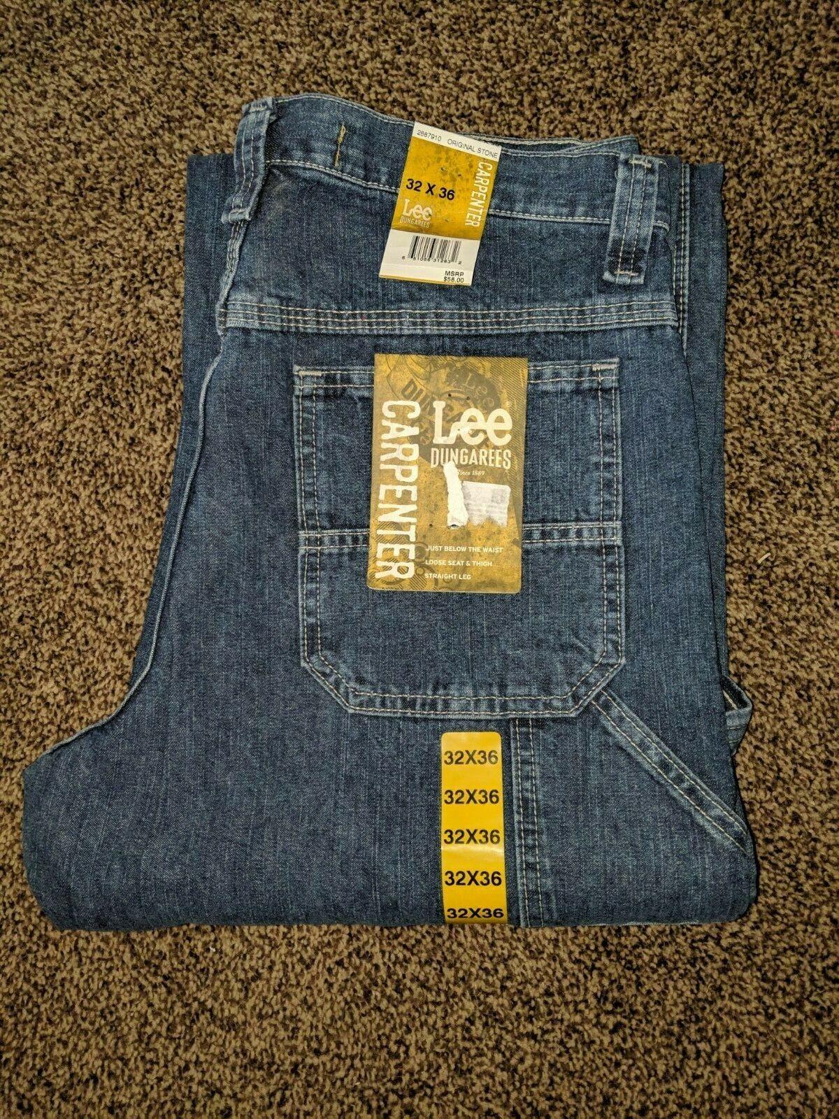 Lee Dungarees Men's Carpenter Jeans