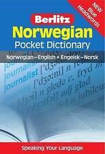 Berlitz: Norwegian Pocket Dictionary: Norwegian-English = Engelsk-Norsk (Berlitz
