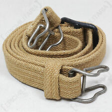 Japanese Army ARISAKA Type 99 CANVAS SLING - T-99 Khaki Gun Strap WW2 Repro New