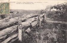 CPA GUERRE 14-18 WW1 SAINT-QUENTIN 660 les défenses english sub timbrée 1920