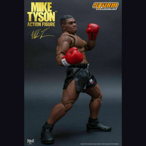 1//12 Storm Collectibles Boxing Champion Mike Tyson Action Figure 3 Head Sculpt