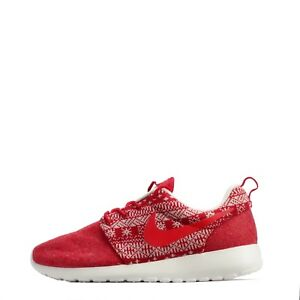 Nike Roshe One inverno donna casual da passeggio Scarpe in rosso / VELA