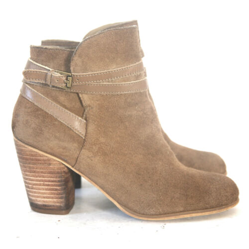 Size 8 - Nordstrom BP Women's Tan Suede Ankle Boot