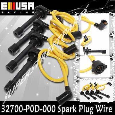 Spark Plug Wire fit 1995-1997 Honda Odyssey EX/LX Mini Van 2.2L 32700-P0D-000
