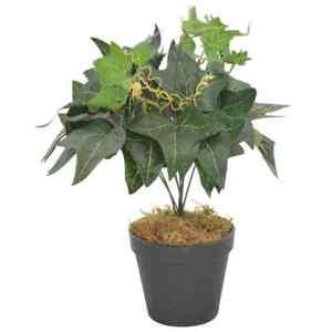 vidaXL-Plante-Artificielle-Feuilles-de-Lierre-avec-Pot-Fleur-Bureau-Maison