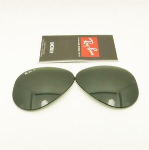 19ad262776 Image is loading RAY-BAN-REPLACEMENT-LENSES-AVIATOR-3025-Polarized-Green-
