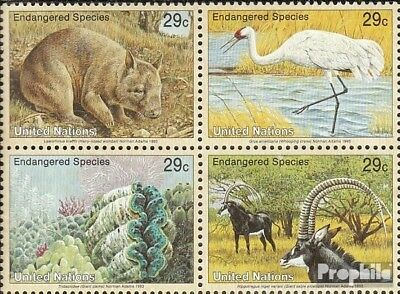 Unmounted Mint Sincere Un-new York 644-647 Block Of Four complete Issue Never Hinged