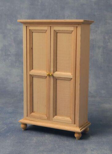 SCALA 1:12 finitura naturale in legno guardaroba tumdee Casa delle Bambole Miniatura 149