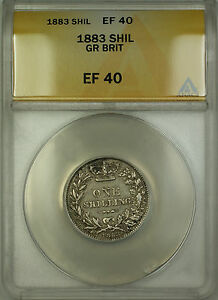 1883-Great-Britain-Silver-Shilling-Coin-ANACS-EF-40