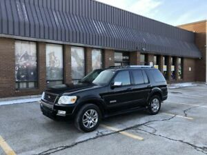 2007 Ford Explorer 4WD LIMITED 7 SEATER LOW KMS & CLEAN