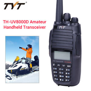 TYT-TH-UV8000D-10KM-VHF-UHF-UV-2-Way-FM-Amateur-Radio-3600mAh-136-174-400-520MHz