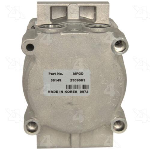 A//C Compressor-New Compressor 4 Seasons 58149 or Equivalent