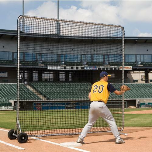 10' Square Pro Base FUNGO Mobile Screen by  Athletic Connection  classic style