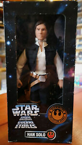 HAN-SOLO-STAR-WARS-Collectors-Series-1997-by-Kenner-Action-Figure-NUOVO