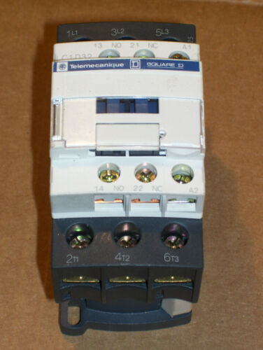 NEW SQ SQUARE D TELEMECANIQUE LC1D3201F7 5-25HP//240-600 CONTACTOR 110V COIL N743
