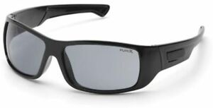 Pyramex-Furix-Safety-Glasses-Black-Frame-Gray-Anti-Fog-Lens