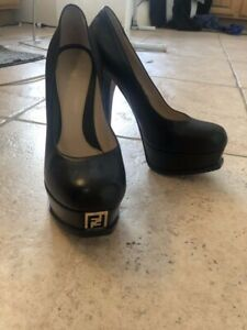 Fendi High Heels (Fendista Pump) Black