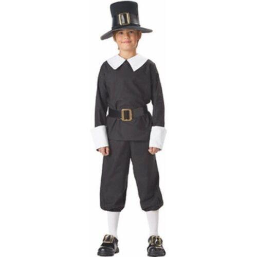 Child/'s Pilgrim Boy Costume