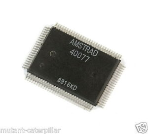 Amstrad-sinclair-spectrum-2-A-40077-Negro-y-3-ULA-Chip-IC