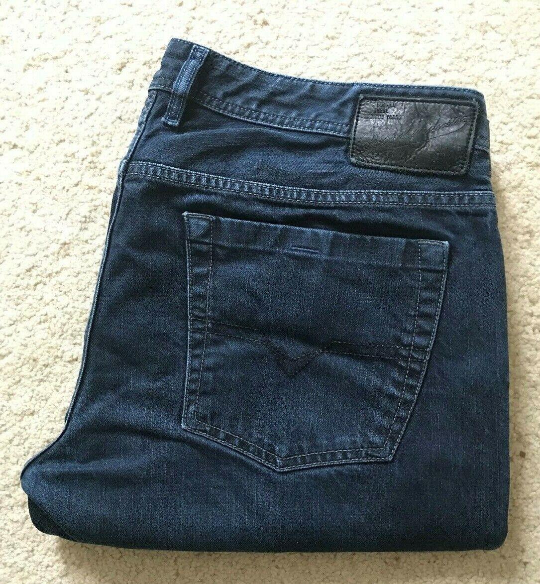 Mens Diesel Zatiny wash 0088Z regular Stiefelcut indigo Blau denim jeans W 38 L 33  | Spielen Sie Leidenschaft, spielen Sie die Ernte, spielen Sie die Welt  | Ausgezeichnete Leistung  | Sehr gelobt und vom Publikum der Verbraucher geschätzt