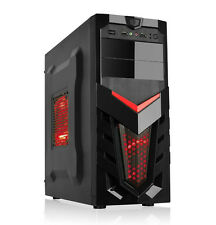 Dynamode lockstock gc371 ATX Tower Gaming PC Case con Anteriore USB 3.0 & 2 x VENTOLE