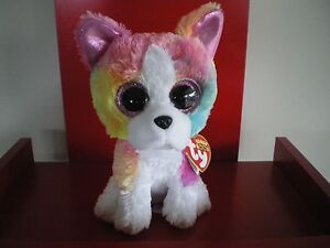 14bfec8cb55 Ty Beanie Boos ISLA the dog 6 inch NWMT.Claire s Exclusive.LIMITED ...