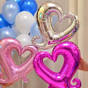 Fj-Lk-Romantico-Amore-Cuore-Palloncini-ad-Elio-in-Foil-Compleanno-Festa-di
