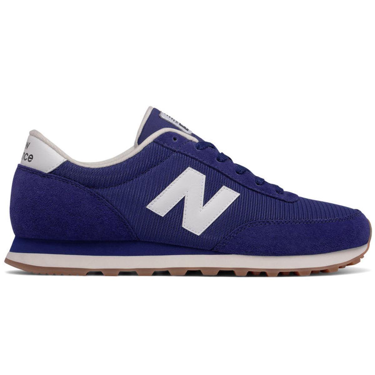 New Balance 501 Running Classics Navy White Mens Trainers