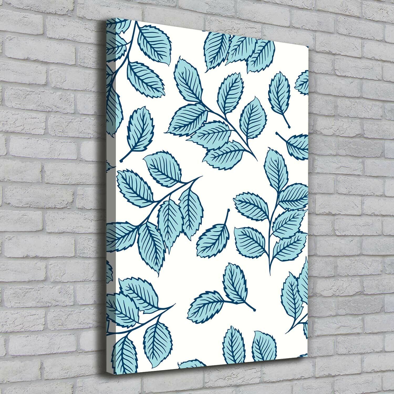 Leinwand-Bild Kunstdruck Hochformat 70x100 Bilder Blätter
