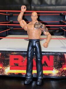 La-Roca-WWE-Mattel-Figura-de-Accion-Juguete-Nino-basico-juego-de-lucha-libre