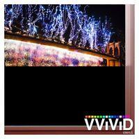 Matte Blackout Opaque Vinyl Window Decal