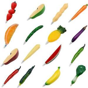Fruit-Plastic-Ballpoint-Pen-with-Vegetable-Magnet-Ball-Pens-Stationery-For-E9W4