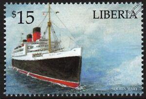 Capable Rms Queen Mary Cunard Line Ocean Liner/passagers De Paquebots De Croisière Stamp #2-afficher Le Titre D'origine La DernièRe Mode