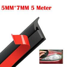 T Shape 5m Car Door Rubber Seal Strip Hood Trunk Trim Edge Moulding Weatherstrip Fits Saab