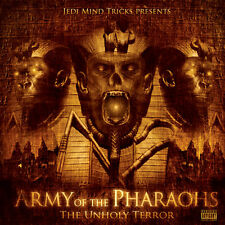 ARMY OF THE PHARAOHS The Unholy Terror CD JEDI MIND TRICKS VINNIE PAZ APATHY