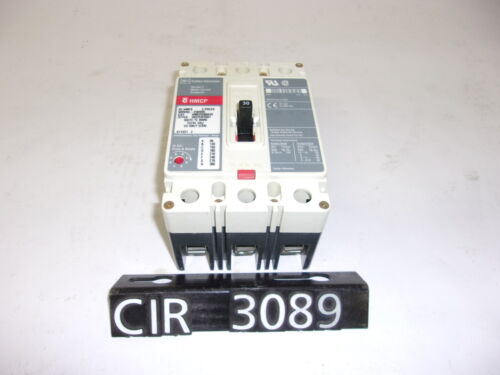 CIR3089 NEW OTHER CUTLER-HAMMER CIRCUIT BREAKER HMCP0301C 30 Amp 600V 3 Pole