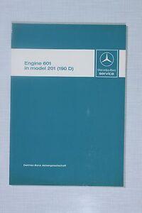 mercedes benz engine om601 190d introduction into service manual rh ebay co uk om 601 manual mercedes om601 service manual